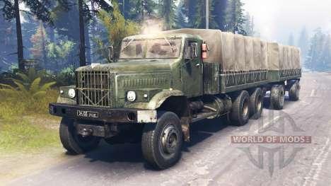 KrAZ-255 principal para Spin Tires