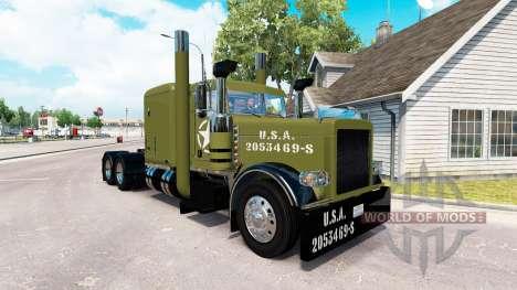 WW2 la piel Limpia para que el camión Peterbilt  para American Truck Simulator