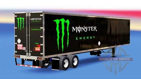 Semi-remolque con diferentes colores para American Truck Simulator