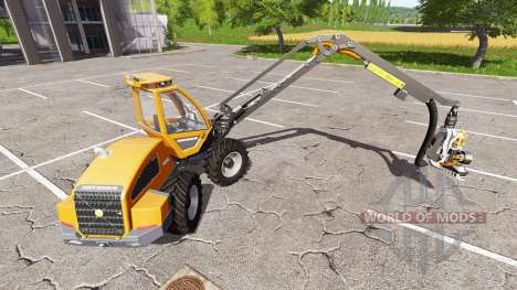 Sampo Rosenlew HR46X full cranecontrols v1.1 para Farming Simulator 2017