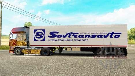 El semirremolque-el refrigerador de Odaz 9786 So para Euro Truck Simulator 2
