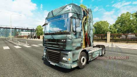 Zombie skin for DAF truck para Euro Truck Simulator 2