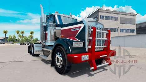 Pesado Deber de parachoques para Kenworth W900 para American Truck Simulator