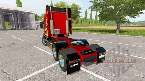 Scania T164 three-axle para Farming Simulator 2017