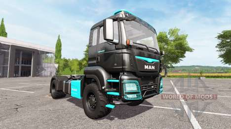MAN TGS 18.480 limited edition para Farming Simulator 2017