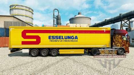 La piel Esselunga S. p.una.Una. es un semi para Euro Truck Simulator 2