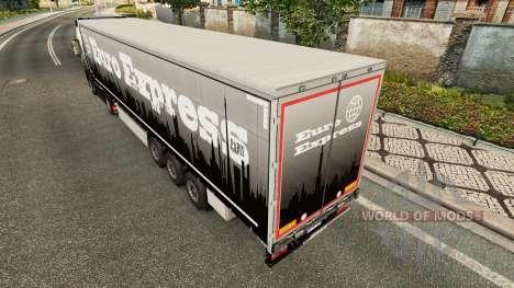 Euro Express de la piel para remolques para Euro Truck Simulator 2