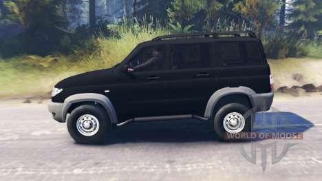 UAZ-3163 Patriota para Spin Tires