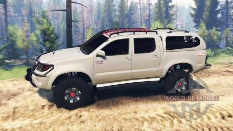 Toyota Hilux 2013 v2.0 para Spin Tires