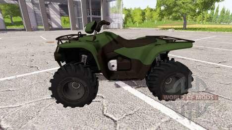 El cuatriciclo para Farming Simulator 2017