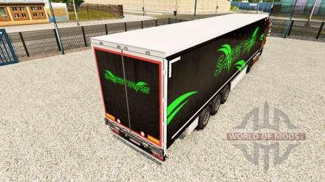 La piel Sachs Trans en una cortina semi-remolque para Euro Truck Simulator 2