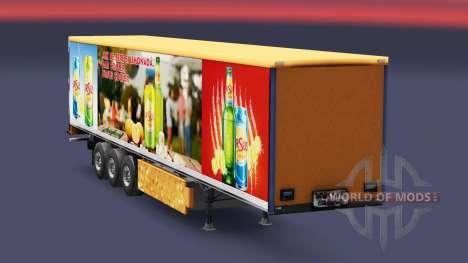 La piel de Ursus Enfriador para remolques para Euro Truck Simulator 2