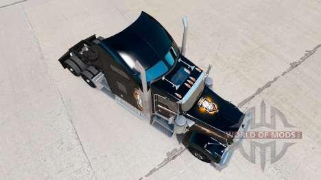 La piel de Black Ops v2 en el camión Kenworth W900 para American Truck Simulator