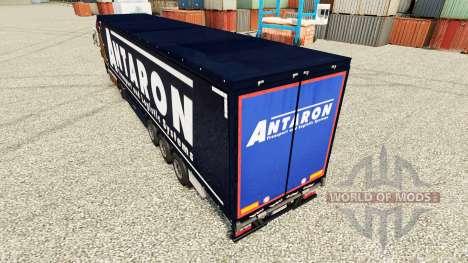 La piel Antaron para remolques para Euro Truck Simulator 2