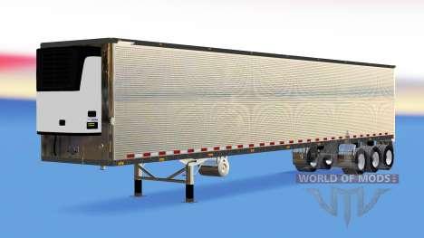 Chrome semi-refrigerados para American Truck Simulator