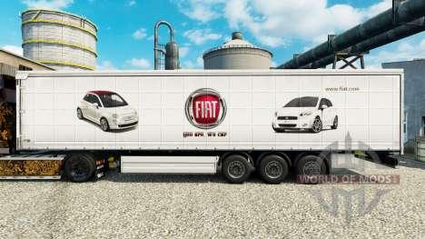 Fiat piel para remolques para Euro Truck Simulator 2