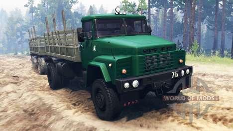 Kraz-260 4x4 para Spin Tires