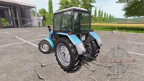 MTZ-Belarús 1025 v2.0 para Farming Simulator 2017