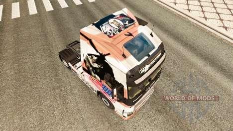 El U. S. Army piel para camiones Volvo para Euro Truck Simulator 2