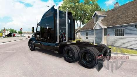 La piel Taylor Express camión Peterbilt 579 para American Truck Simulator