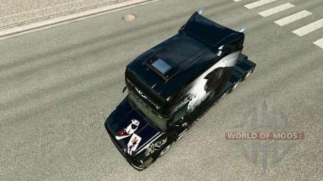 Batman piel para camión Scania T para Euro Truck Simulator 2