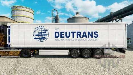 La piel es semi Deutrans para Euro Truck Simulator 2