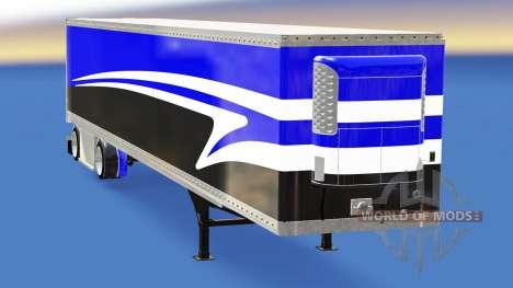 El semirremolque-el refrigerador para American Truck Simulator