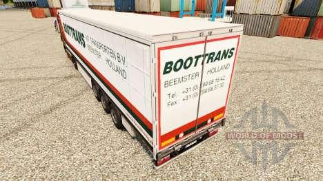 La piel BootTrans para remolques para Euro Truck Simulator 2