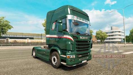 Wallenborn de la piel para Scania camión para Euro Truck Simulator 2