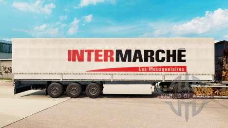 Intermarche de la piel para remolques para Euro Truck Simulator 2