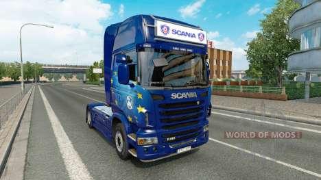 La publicidad caja de luz para Scania para Euro Truck Simulator 2