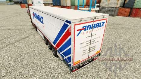 Skin Anhalt Logistics GmbH on semi para Euro Truck Simulator 2