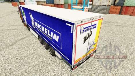 La piel en Michelin semi-remolques para Euro Truck Simulator 2