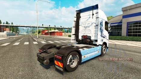 El Vaya con Dios de la piel para camiones Volvo para Euro Truck Simulator 2