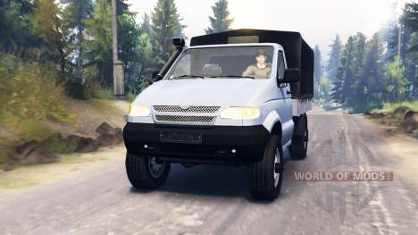 UAZ 23602 para Spin Tires