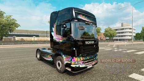 La FDT de la piel para Renault Magnum tractora para Euro Truck Simulator 2