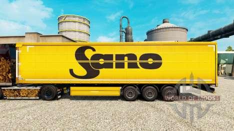 La piel Sano para remolques para Euro Truck Simulator 2