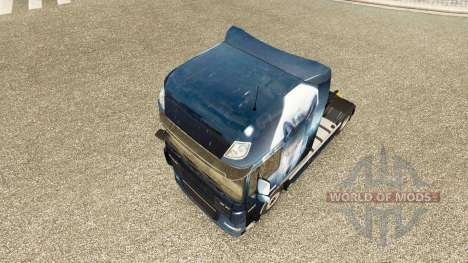 Lobo de la piel para DAF camión para Euro Truck Simulator 2