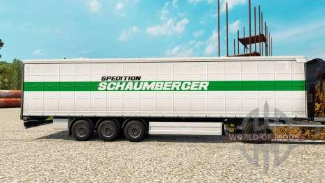 Schaumberger Spedition de la piel para remolques para Euro Truck Simulator 2