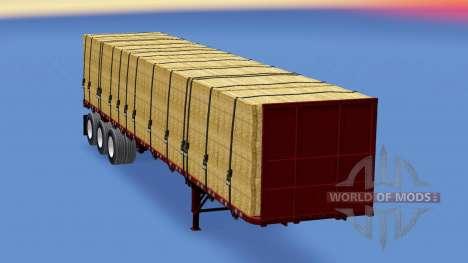 Una colección de trailers de v1.2.1 para American Truck Simulator