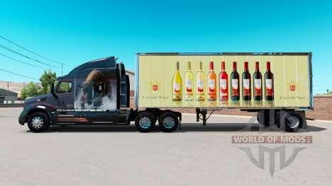 La piel de E. & J. Gallo Winery en pequeño remol para American Truck Simulator