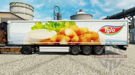 Iglo de la piel para remolques para Euro Truck Simulator 2