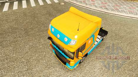 Pezzaioli Cerdos de la piel para DAF camión para Euro Truck Simulator 2