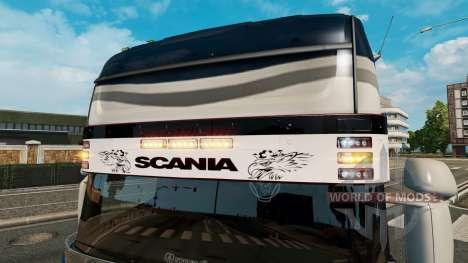 Visera Scania v2.0 para Euro Truck Simulator 2