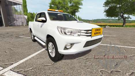 Toyota Hilux convoi agricole para Farming Simulator 2017