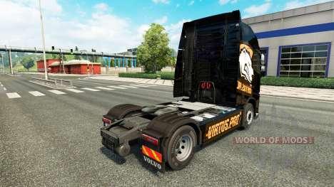 La Piel De Virtus.pro para camiones Volvo para Euro Truck Simulator 2