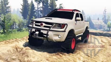 Toyota Hilux 2013 v2.0 para Spin Tires