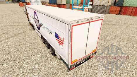 La piel de Camiones norteamericanos Promoción pa para Euro Truck Simulator 2