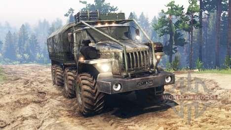 Ural-4320-10 8x8 para Spin Tires