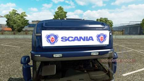 La publicidad caja de luz para Scania Streamline para Euro Truck Simulator 2